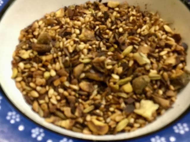 bowl of dukkah