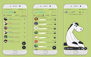 Alone Horse Theme For YOWhatsApp & Fouad WhatsApp By Leidiane