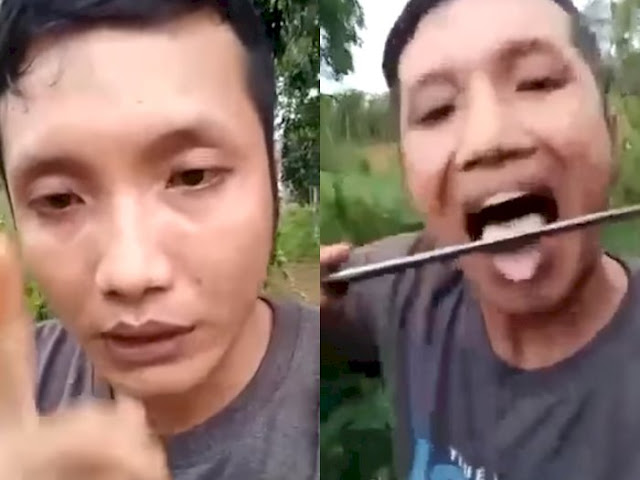 Pria Ini Ngaku Pendukung Jokowi, Tak Terima Difitnah PKI, Kebal Bacok dan Ngajak Duel, Lihat Videonya!