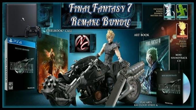Sorteio de Um PS4 Pro e Final Fantasy 7 Remake Bundle!