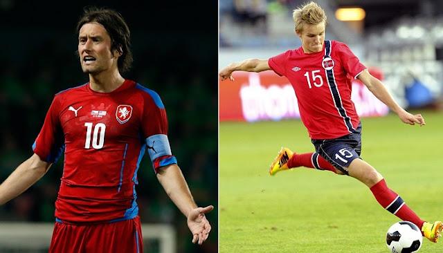 Noruega vs Republica Checa en vivo