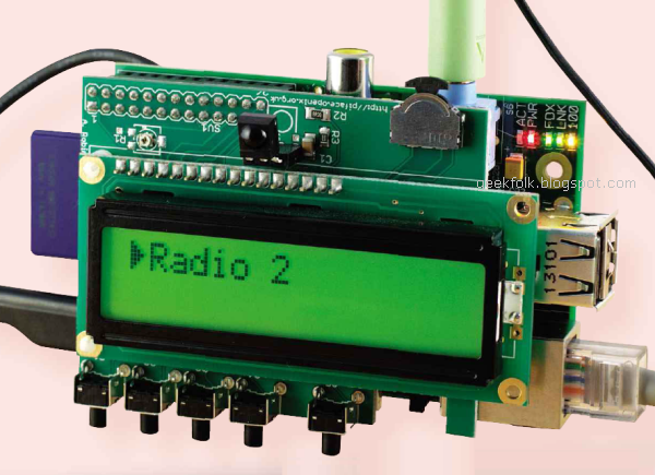 Turn your Raspberry Pi into an internet radio
