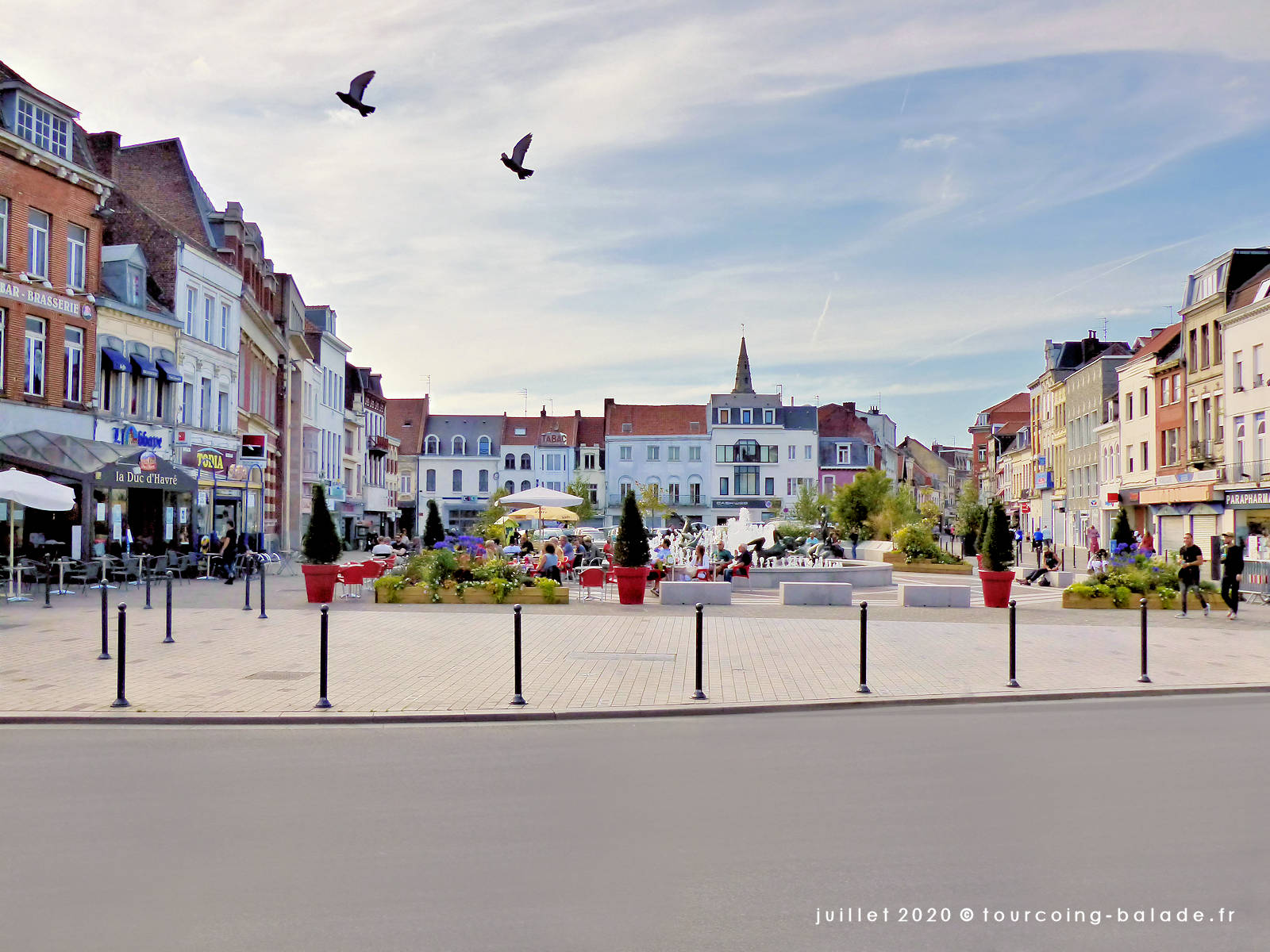 Grand Place, Tourcoing 2020