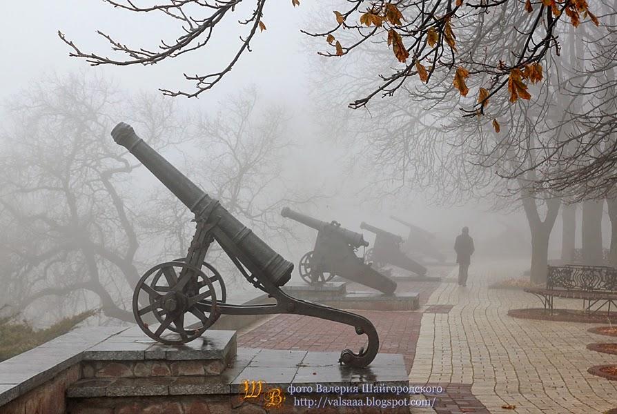 Чернигов пушки вал
