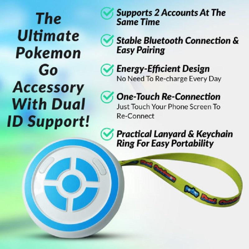 MEGACOM Dual Catchmon Pokemon Go Plus