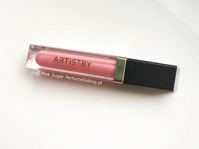 pink sugar błyszczyk artistry opinie