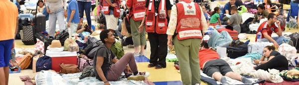 Delta doou US$ 1 milhão para a Cruz Vermelha Americana e US$ 100 mil para Cruz Vermelha / Crescente em pró as vítimas do Furacão Irma