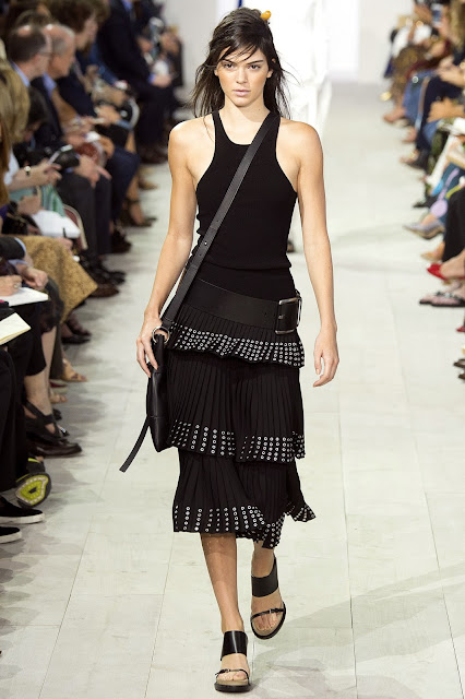 Michael Kors Collection SS 2016 black skirt