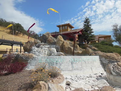 Dry Waterfall at Kennedy Fitness, Paso Robles