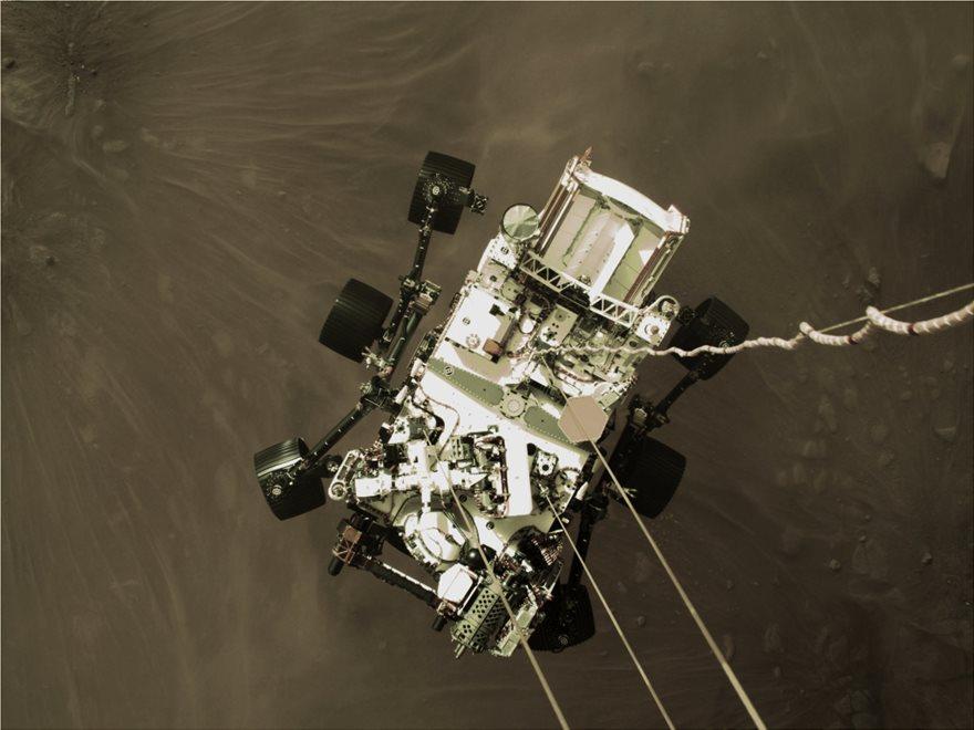 Δείτε το βίντεο της NASA για την προσεδάφιση του Perseverance στον Άρη