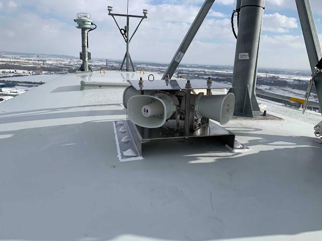 オジロワシ 風力発電、風車に(ガモラ)設置