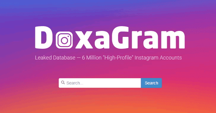 Instagram Hacker Puts 6 Million Celebrities Personal Data Up For Sale On DoxaGram