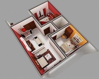 model rumah minimalis sederhana tapi indah