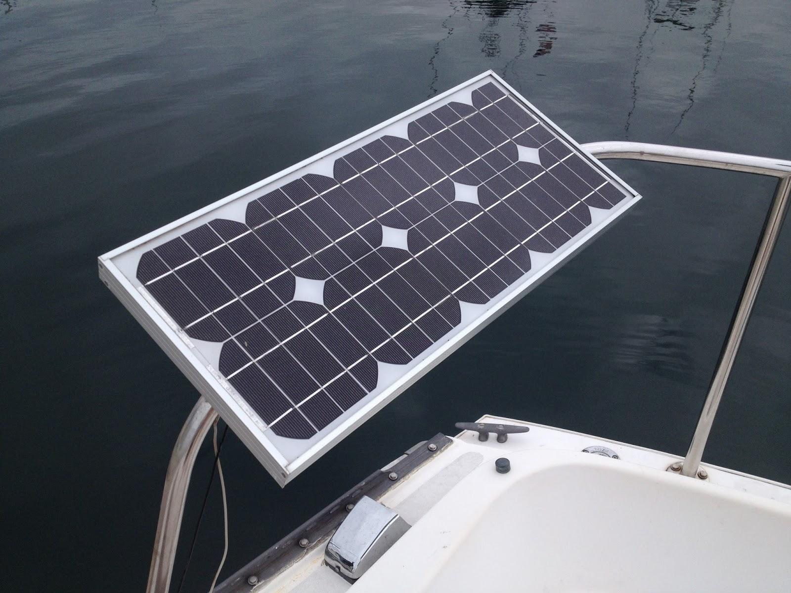 Captain Curran S Sailing Blog How Much Solar Power Do I