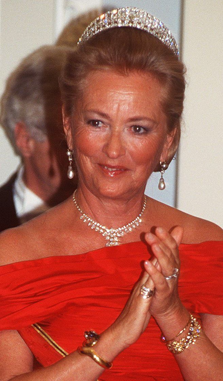 Queen Mathilde Borrowed Jewellery Art Deco Tiara
