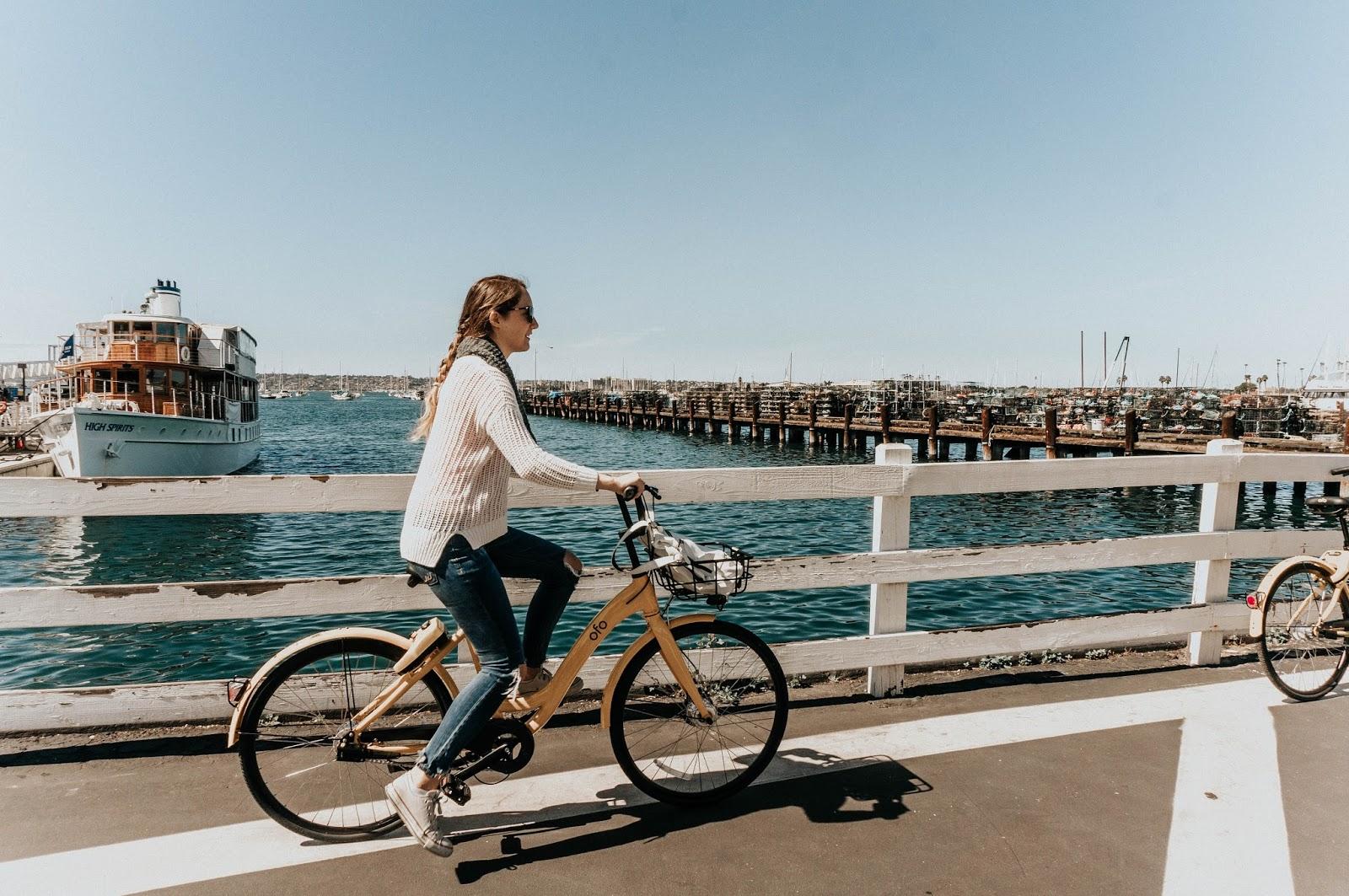 Ofo Bikes in San DIego