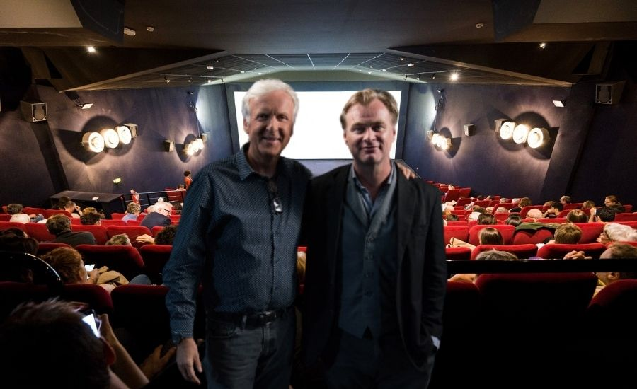James Cameron Christopher Nolan