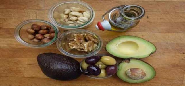 7 أنواع من الدهون الصحية المفيدة للدايت
