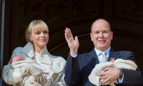 Monaco Royal Twins' Baptism To Be Baptised Today