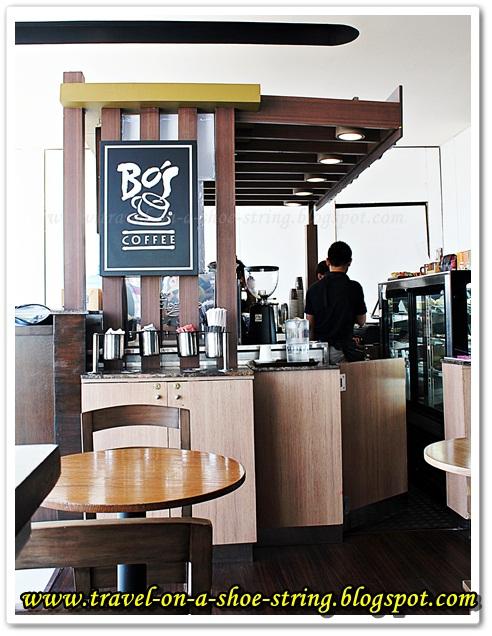 Bo's Coffee Bloggers, Bo's Coffee Kiosk