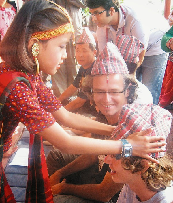 bhai teeka at tihar festival in Nepal