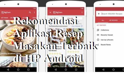 Rekomendasi Aplikasi Resep Masakan Terbaik di HP Android