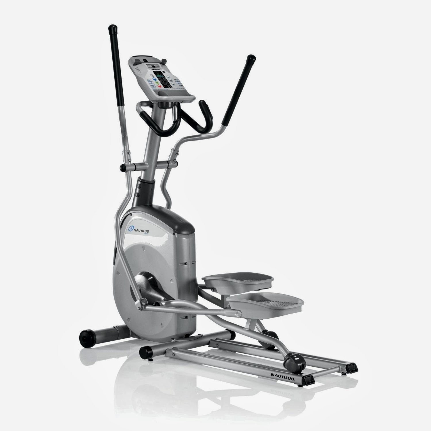 Nautilus E514c Elliptical Trainer, review of features, compact front drive
