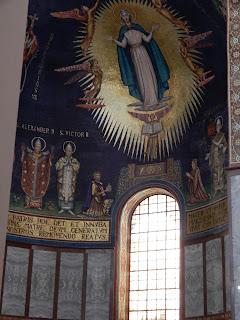 サレルノ大聖堂の窓