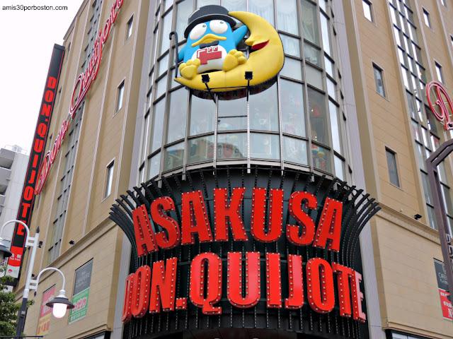 Tiendas Don Quijote en Tokio