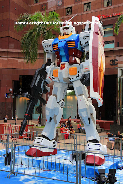 Gundam model, action figure, Singapore