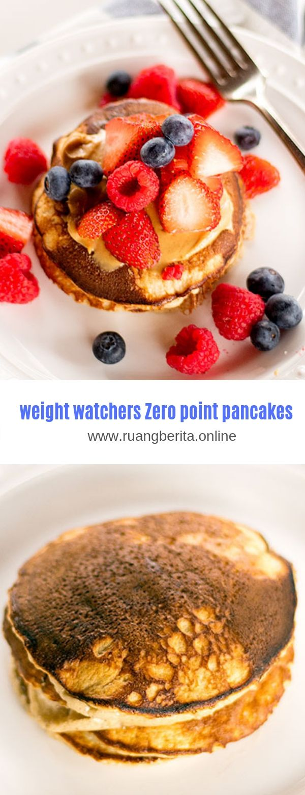 weight watchers Zero point pancakes