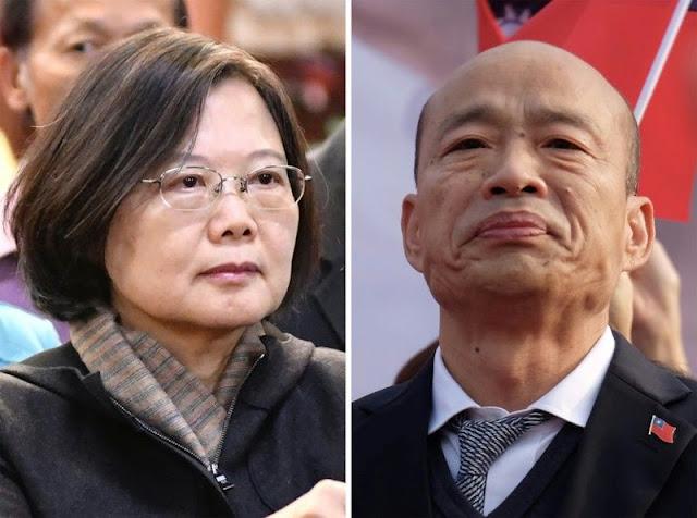 Bầu cử Đài Loan: Bà Thái Anh Văn tái đắc cử đánh bại ứng cử thân Bắc Kinh