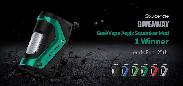 GeekVape Aegis Squonker Mod Giveaway