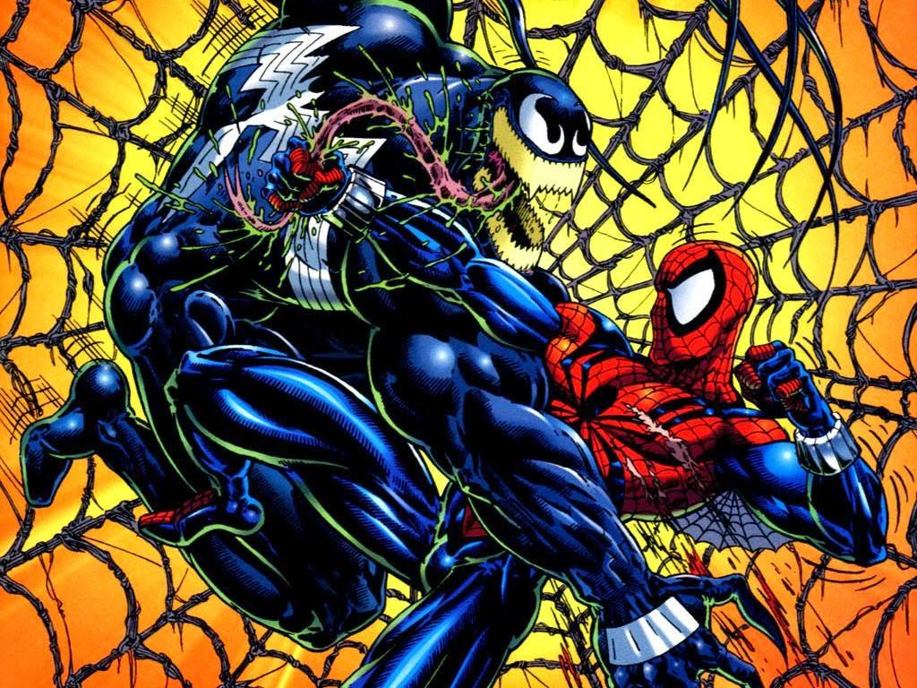 Coloriage Spiderman Venom Carnage Coloriage En Ligne