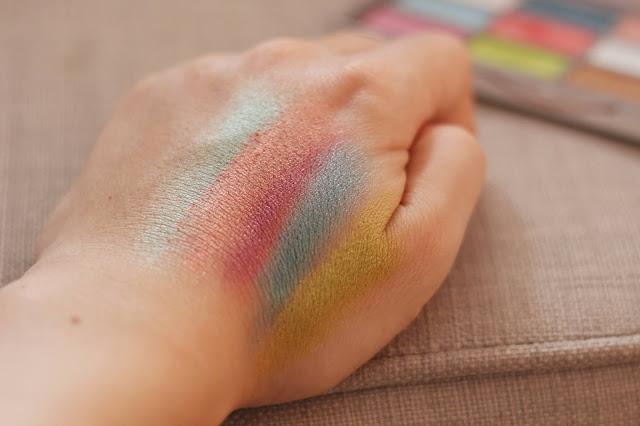 Revolution XX Amethyst paletka vzorka farieb