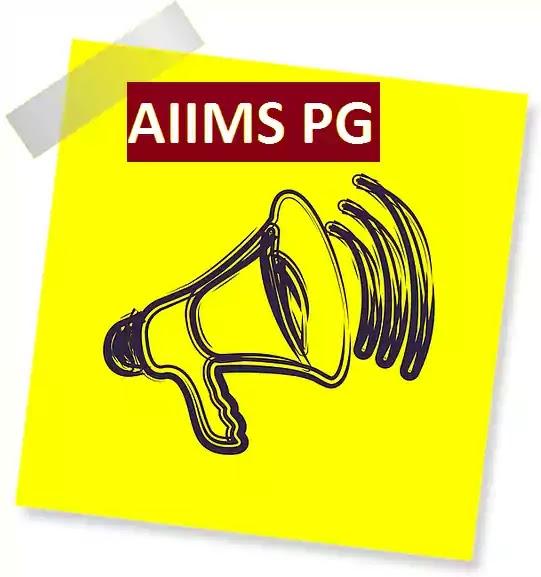 aiims-pg-announcement