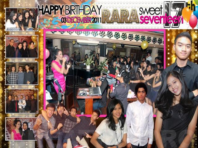 foto ulang tahun sweet seventeen jakarta