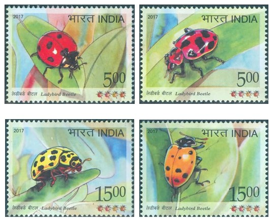 New Stamps From IndiaLadybird Beetle
