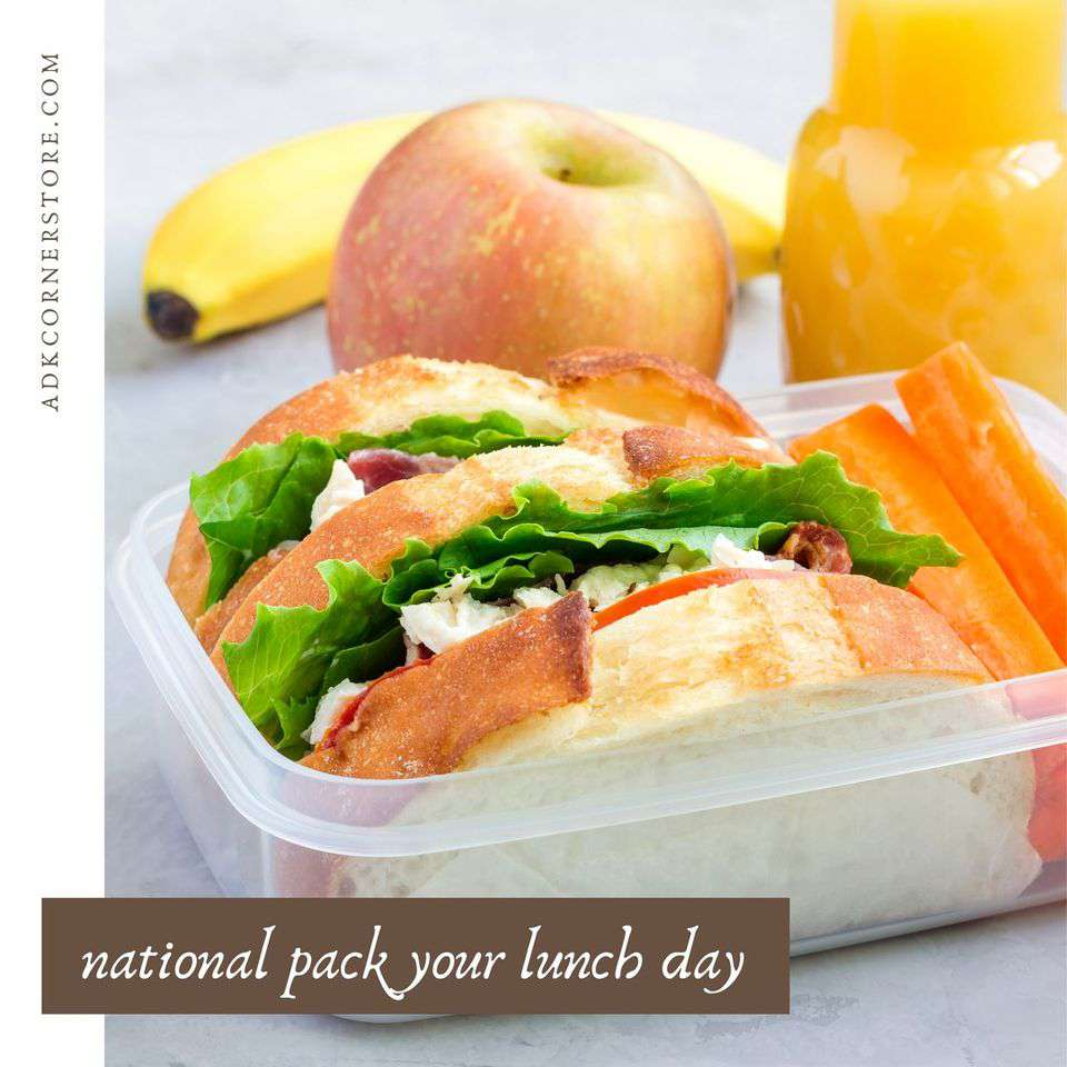 National Pack Your Lunch Day Wishes Awesome Images, Pictures, Photos, Wallpapers
