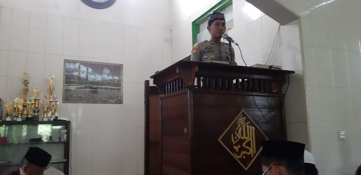 Kapolsek Tinngimoncong, Menyampaikan Pesan Kamtibmas Pada Masyarakat