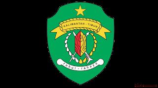 lambang logo provinsi kalimantan timur png transparan - kanalmu