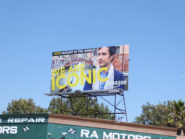 Mozart Jungle Iconic Emmy billboard