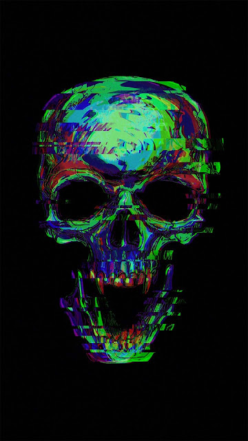 20 Grapichs Art Skull, Pattern Steampunk Skull Ultra HD Wallpapers 4K for iPhone and Android