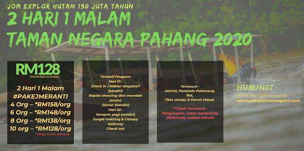 Pakej Taman Negara Pahang