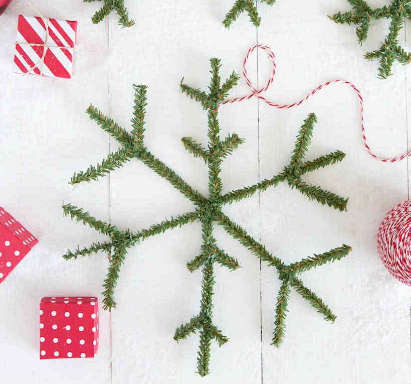copos de nieve con limpiapipas, 8 diy con limpiapipas para navidad