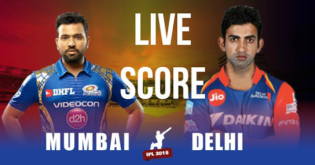 Video Highlight IPL 2018 Match 9 MI vs DD Live Socre and Full Scorecard