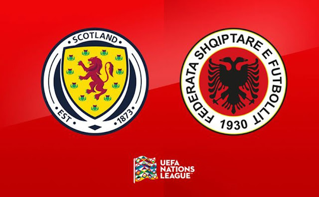 Albania ready to play against Scotland in the second match of Nations League