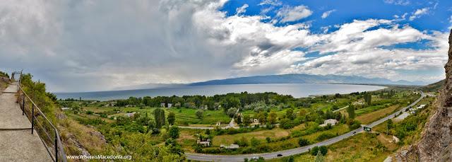 Panorama - Ohrid Lake Macedonia