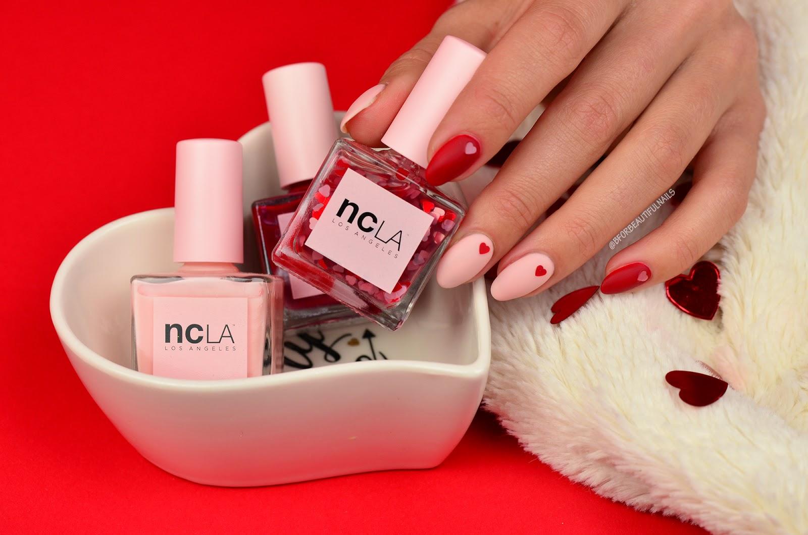 Zakochane Paznokcie Na Walentynki Z Ncla B For Beautiful Nails