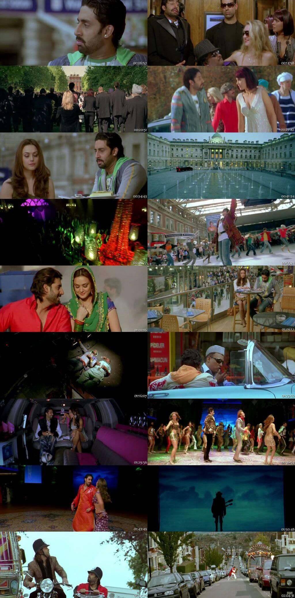 Screen Shot Of Jhoom Barabar Jhoom 2007 Full Movie Free Download HD 720P Watch Online